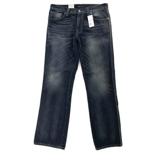 Nudie Gray Jeans Slim Jim Organic Cotton 36x32 NEW